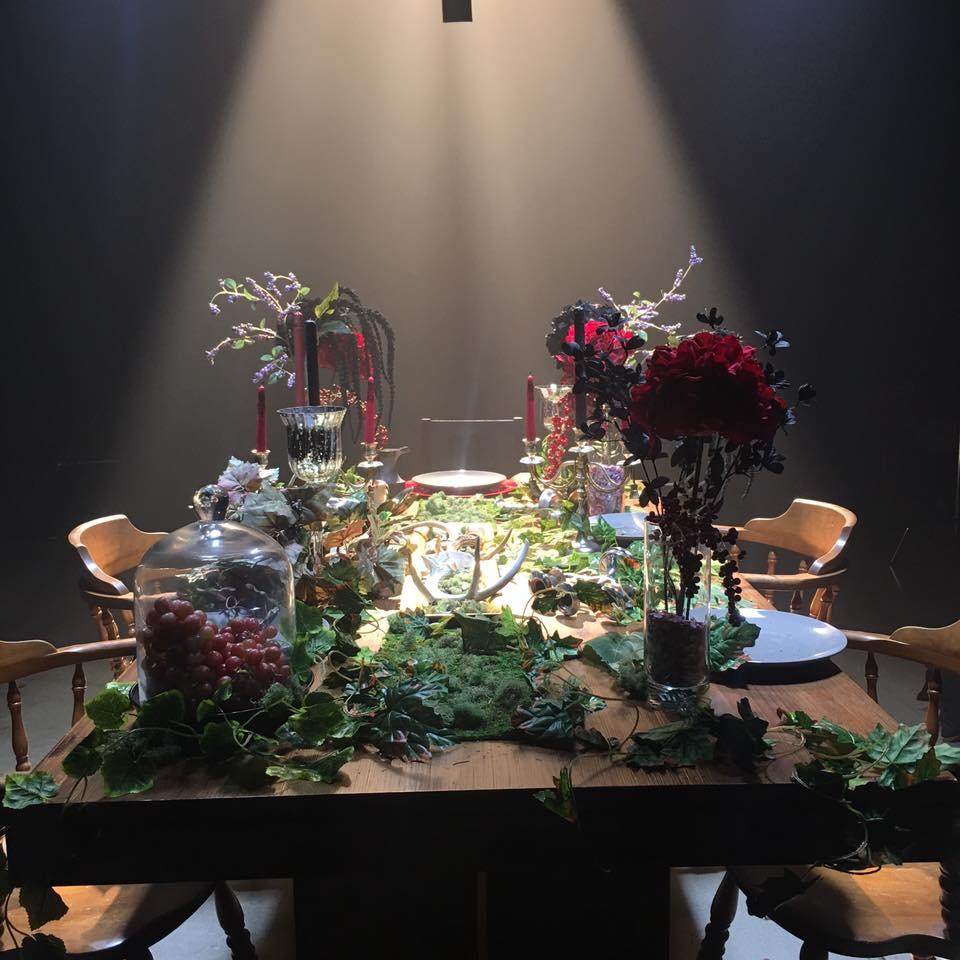 SYCT - gothic feast scene