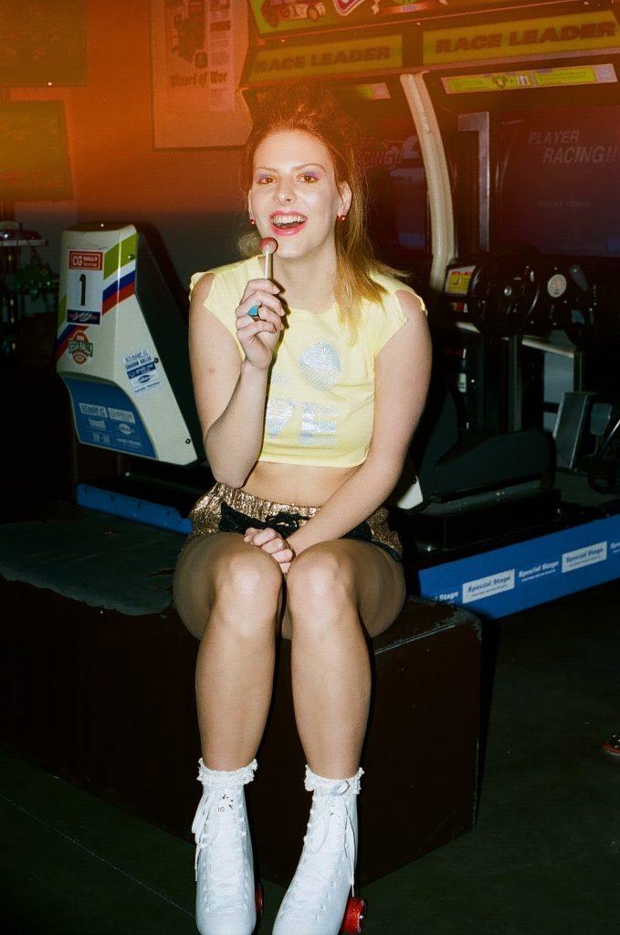 Rollergirl - photo by Sasha Kane